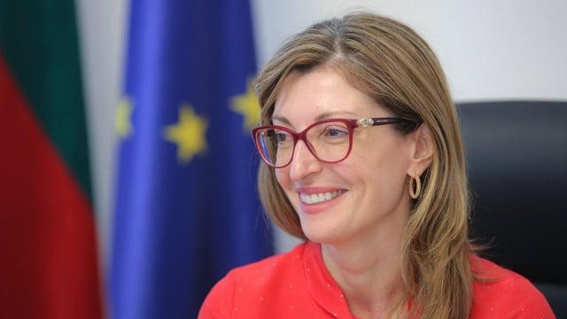 """Министър Екатерина Захариева пред """"Марица"""": Българите трябва да гласуват, от тях зависи пътят на страната ни в следващите 4 години"""