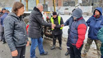 Здравко Димитров похвали почистването на улиците в Пловдив СНИМКИ/ВИДЕО