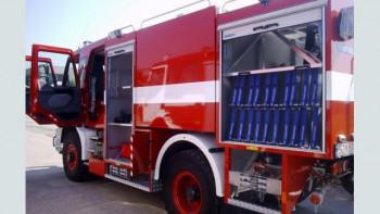 Огромен пожар край София, хвърчат пожарни и полиция ВИДЕО