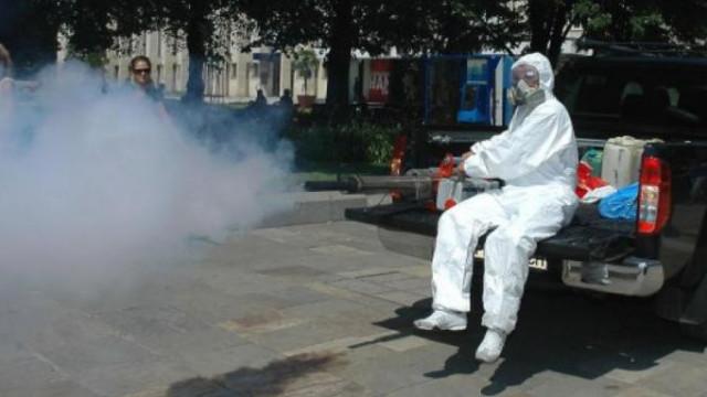 Пръскат дворовете на детски градини и училища срещу кърлежи и комари
