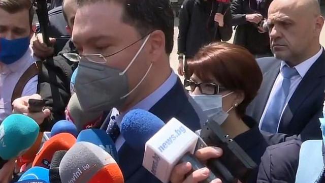 Даниел Митов обяви от кои партии ще търси подкрепа за кабинета на ГЕРБ