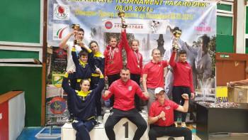 Фурор - 15 медала за каратеките на Спартак (Пазарджик)