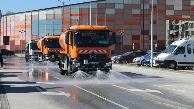 График за машинното миене на пловдивските улици от 17 до 21 май