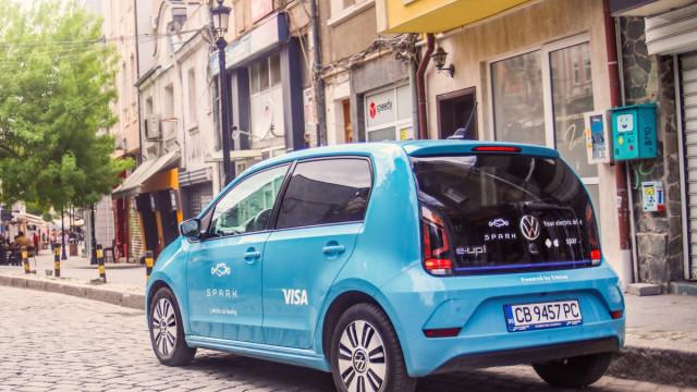 Споделените електромобили вече са и в Пловдив