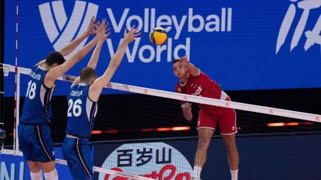 Волейболистите ни загубиха и от резервите на Италия
