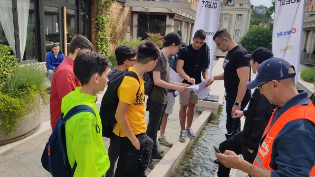 Търсачи на съкровище: The Clashers Quest събра стотици тийнейджъри в Пловдив СНИМКИ - 1