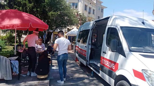Минка Сърнешка и социалисти дариха кръв и плазма - 1
