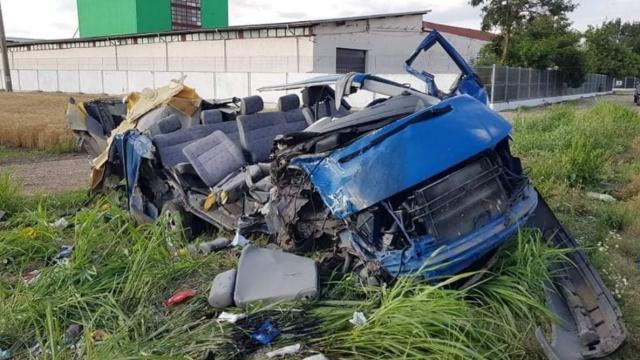 Петима българи загинаха при зверско меле в Румъния СНИМКИ