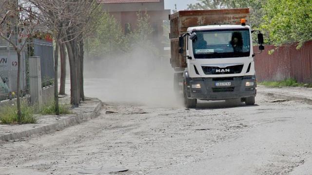 Шофьори и фирми на протест заради кратерите на Рогошко