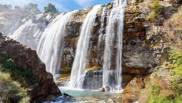 Великолепието на най-високия водопад в Европа