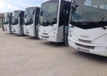 Пуснаха нови, модерни автобуси по линии 2,10 и 13