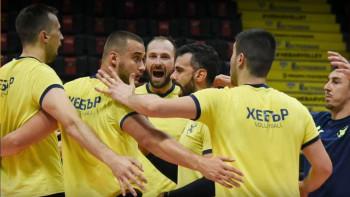 Хебър сгази Бахрейн и ЦСКА преди турнето в Италия