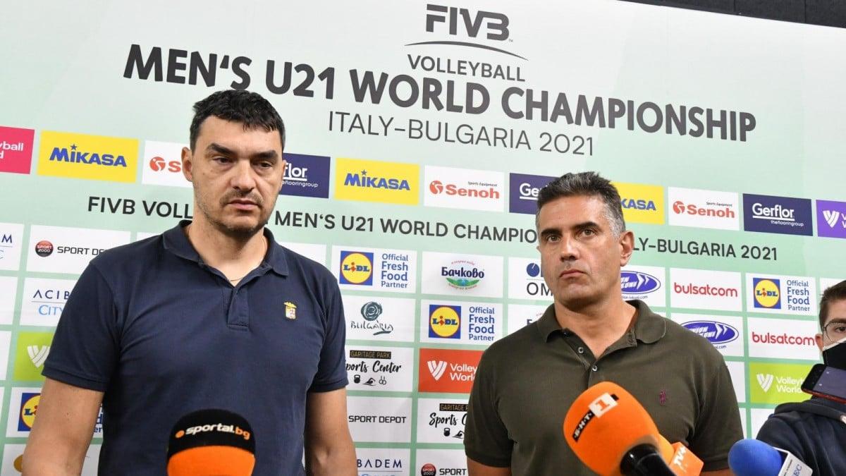 Вицепрезидентът на Българската федерация по волейбол Давид Давидов заяви, че