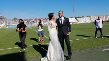 Сватбата на Алекс и Атанас украси пловдивското дерби