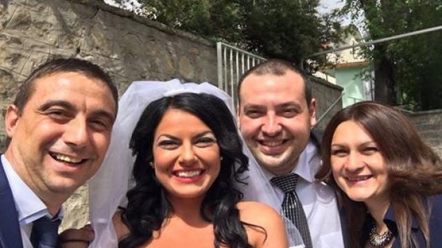 """Кметът на район """"Западен"""" Димитър Колев ожени Петър Попов през 2016 год."""