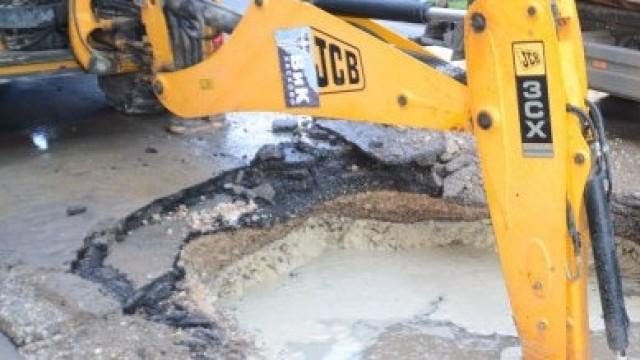 Авария остави без вода голяма улица в Димитровград
