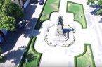 Вижте паметника на Левски в Карлово, сниман от дрон
