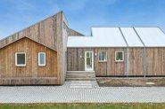 В Дания построиха къща от слама и водорасли