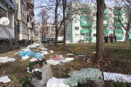 Ураганният вятър прави беля след беля в Пловдив СНИМКИ
