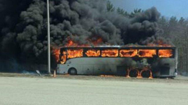 Трагедия! 52-ма загинаха след като автобус се запали